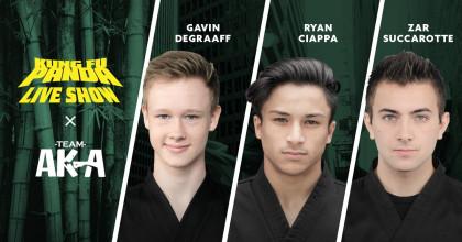 Kung Fu Panda & Team AKA; Gavin Degraaff, Ryan Ciappa, Zar Succarotte